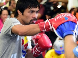 Manny-Pacquiao-Media-training-session