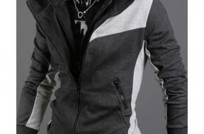 Assassins-Creed-3-III-DESMOND-Mens-Slim-Fit-Hoodie-Blazer-Jacket-Sport-Coat-Dark-Grey